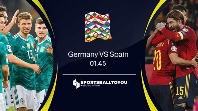 ปรีวิวฟุตบอล เยอรมนี VS สเปน