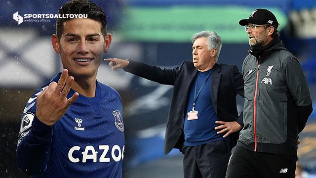 James Rodriguez , Ancelotti , Jürgen Klopp