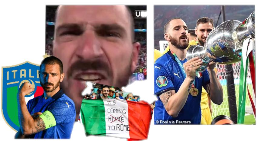 ลีโอนาร์โด โบนุชชี ลั่น It's coming to Rome! เย้ยแฟนบอลผู้ดี